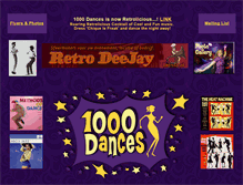 Tablet Preview of 1000dances.nl